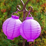 Battery Operated LED Paper Lanterns