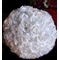 "16"" White Rose Flower Ball Lantern"