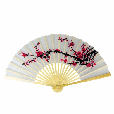 how to make japanese hand fan