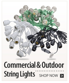 Commercial & Outdoor String Lights