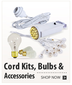 Cord Kits, Bulbs & Accessories