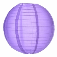 Dark Purple Nylon Lanterns
