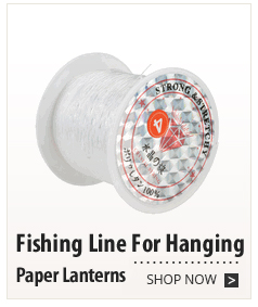 Fishing Line For Hanging Paper Lanterns
