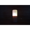 Flameless LED Candle Outdoor Light with Remote, Timer (Warm White)