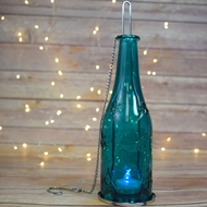 Hanging Bottle Candle Lanterns