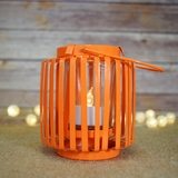 Hanging Cylinder Candle Lanterns
