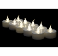 LED Battery Operated Flameless Candles - Warm White (12 Pack)