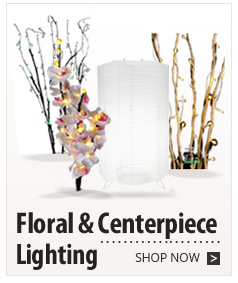 Floral & Centerpiece Lighting