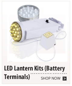 LED Lantern Kits (Battery Terminals)
