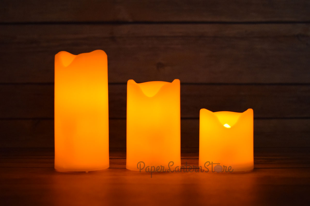 Mini Flameless Led Candle Light With Remote Flicker