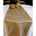 Organza Table Runner - Gold