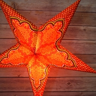 Pattern 5 Point Star Lanterns