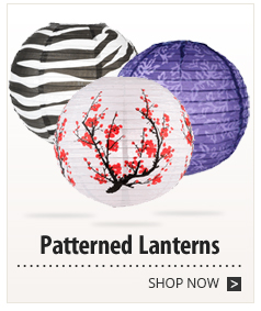 Patterned Lanterns