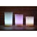 Realistic Wax Drip 12-Color Flameless LED Candle Light w/ Remote, Timer (3 Pack, RGB)