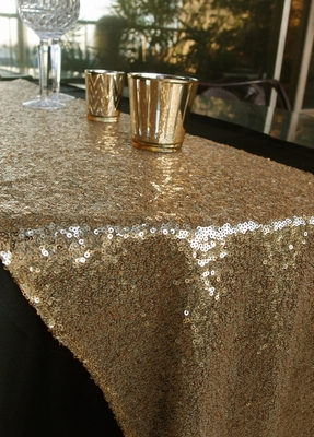 Sequin Table Runner Gold 12 X 108 On Sale Now From