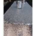Sequin Table Runner - Silver (12 x 108)