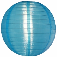 Sky Blue Nylon Lanterns