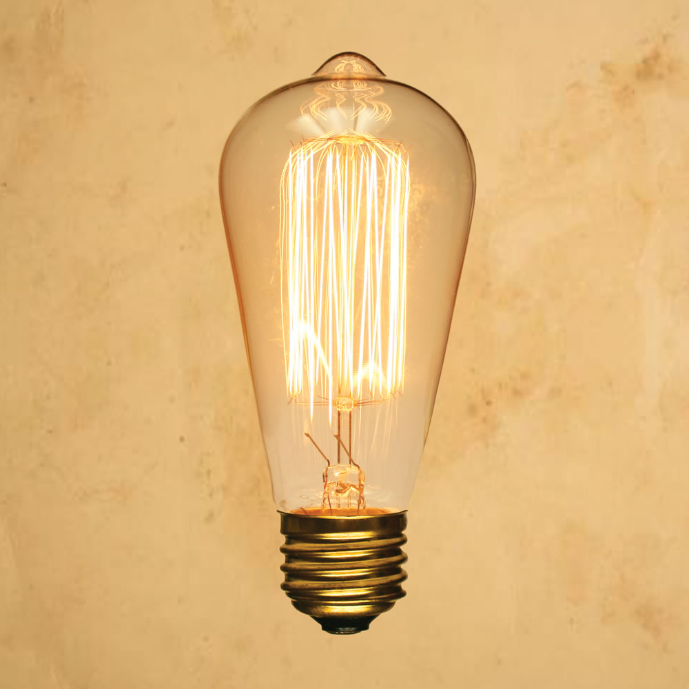 Filament Old Fashioned Incandescent Light Bulbs