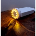 (V2) Multifunction Wireless Controlled 12 LED Hanging Battery Terminal For Lanterns - Warm White