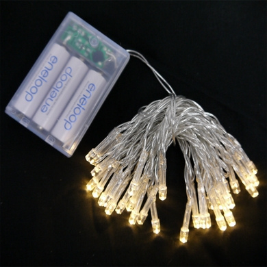 warm white led battery powered mini lights from. Black Bedroom Furniture Sets. Home Design Ideas