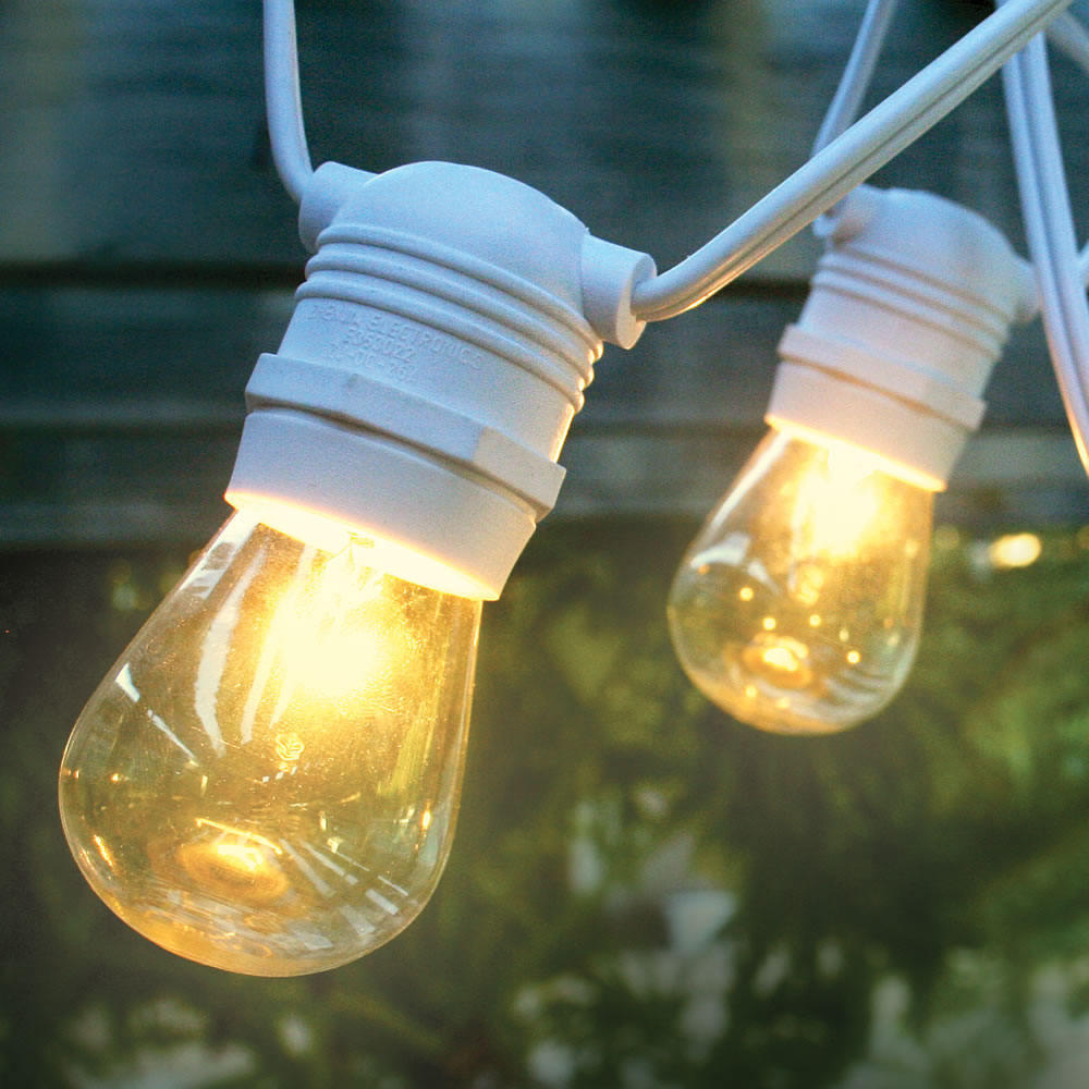 Fantastic Solar Outdoor String Lights White