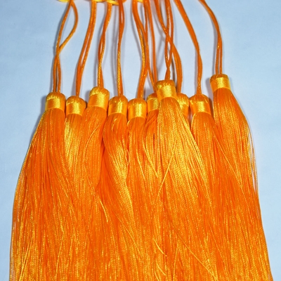 Yellow Tassel Hanging Ornament Accessory For Paper