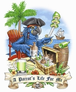 Parrot's Life<BR>For Me-<BR>Personalize<BR>the front