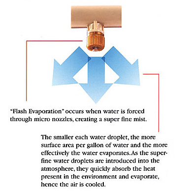 How Do <b>Misting Systems Work</b>?