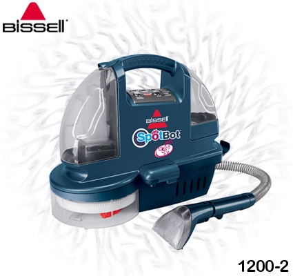 Bissell 1200-2 SpotBot Pet Handsfree Compact Deep Cleaner