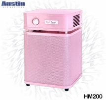 Austin Air HM 200 HealthMate Jr Air Purifier in Pink Demo