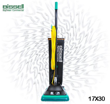Bissell 17X30 BG100 ProTough Lightweight Shake-out Commercial Vacuum Cleaner