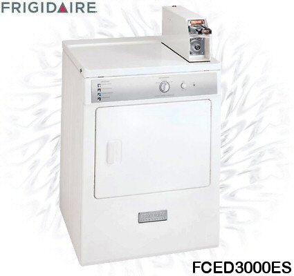 Frigidaire FCED3000ES Coin Operated Front-Load Electric Dryer
