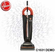 Hoover C1631 Commercial Vacuum Demo