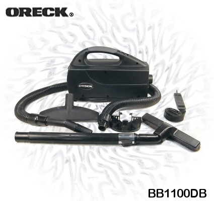 Oreck XL BB1100DB Handheld Compact Canister Vacuum