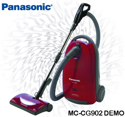Panasonic MC-CG902 Canister Vacuum Demo