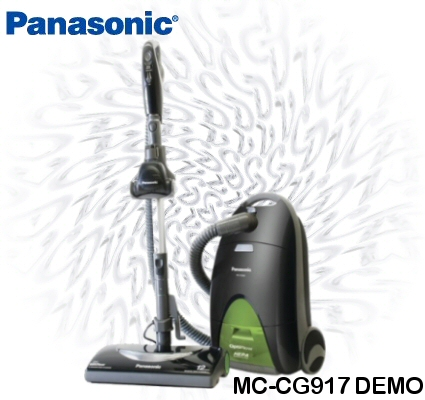 Panasonic MC-CG917 Canister Vacuum Demo
