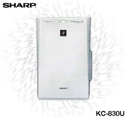 Sharp KC-830U Plasmacluster Air Purifier