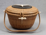 "Nantucket ""Cocktail"" Basket Purse by Jose Formosa Reyes 1968"