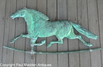 19th C. Running Horse Weathervane