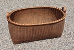 Antique Large Gathering Basket