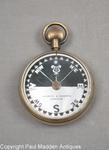 Antique Pocket Compass by Negretti & Zambra