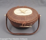 "Nantucket Basket ""Cocktail"" Purse by Jose Formosa Reyes 1959"