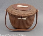 Nantucket Basket Purse by Jose Formosa Reyes 1959