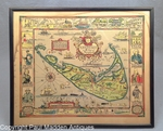 Nantucket Map by Tony Sarg 1926