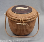 Nantucket Basket Purse by Jose Formosa Reyes 1961