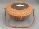 "Vintage Nantucket ""Cocktail"" Basket Purse by Jose Formosa Reyes"