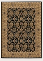 All Over Vase Black Deep Maple 8132/2606 Royal Kashimar Area Rug by Couristan