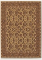 All Over Vase Hazelnut 8132/2607 Royal Kashimar Area Rug by Couristan