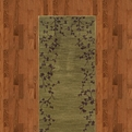 Allure 004e1 Green Machine Made 100% Nylon Sphinx Rugs