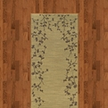 Allure 004f1 Beige Machine Made 100% Nylon Sphinx Rugs